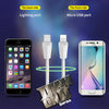 Phonete.com2 In 1 New Design Two side iPhone & Android Charging Cable50%OFF