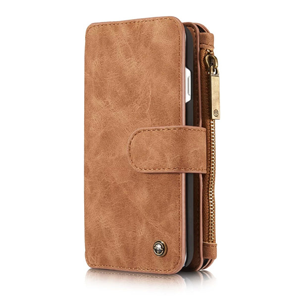 Premium Leather Wallet Case For iPhone 50%OFF- Phonete.com