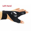 Phonete.comMultipurpose  Fingerless Gloves LED Flashlighs50%OFF