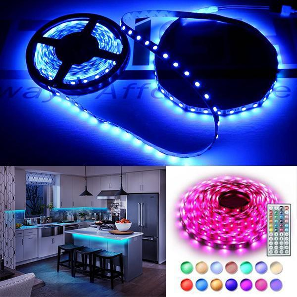 Phonete.comRemote Control 16 FT 300 LEDs Light Strip with Color Changing50%OFF