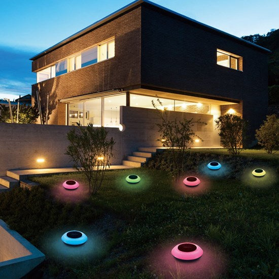 SMART RGB OUTDOOR LAMP WITH APP CONTROL