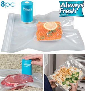 The Always Fresh Vacuum Seal Food Storage Kit