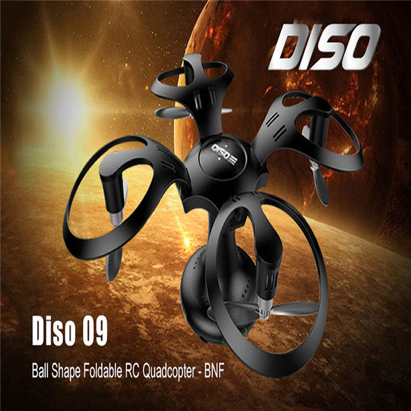 Phonete.comDiso 09 Ball Shape Foldable FPV Altitude WiFi UAV with 0.3MP Camera50%OFF