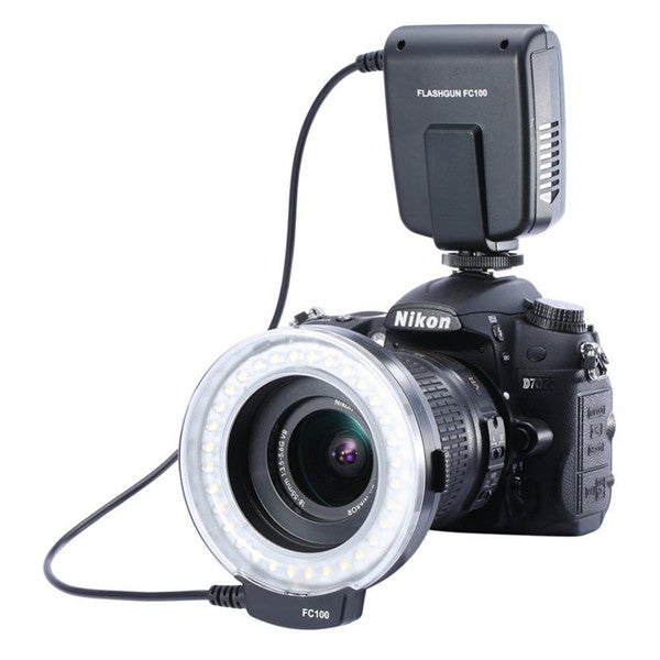 Phonete.comLED Macro Ring Flash For Canon Nikon Olympus50%OFF