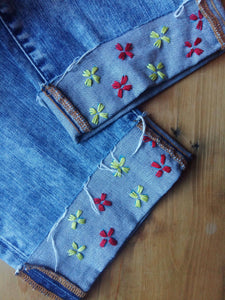 Embroidered Denim DIY