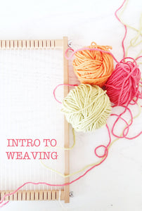 How to start weaving, Beginners weaving tutorial
