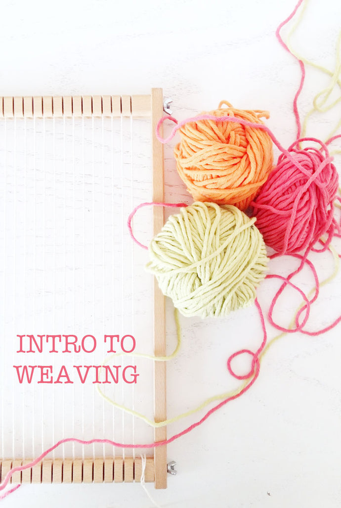 Introduction to Weaving : How to Set a Weaving Loom & Start Weaving