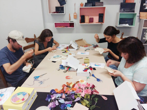 Hand Embroidery Workshop Berlin