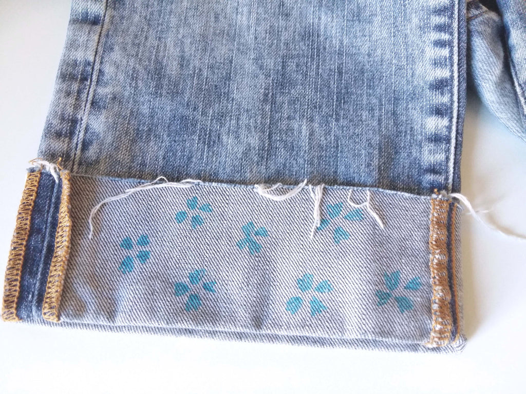 How to embroider on Denim