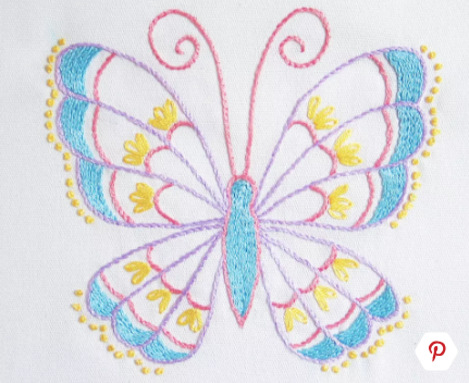 graphic about Free Printable Embroidery Patterns by Hand referred to as 10 Absolutely free Hand Embroidery Routines for Rookies Ginger Muse