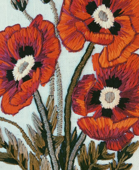 tessa perlow embroidered poppies