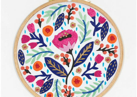 photo about Free Printable Embroidery Patterns by Hand called 10 Free of charge Hand Embroidery Practices for Rookies Ginger Muse