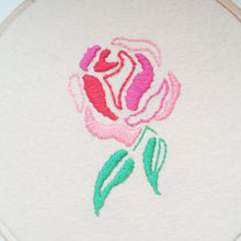 Embroidered Rose Patch Pattern PDF