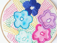 Spring Blooms Beginners embroidery sampler pdf