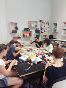 hand embroidery workshop September  berlin