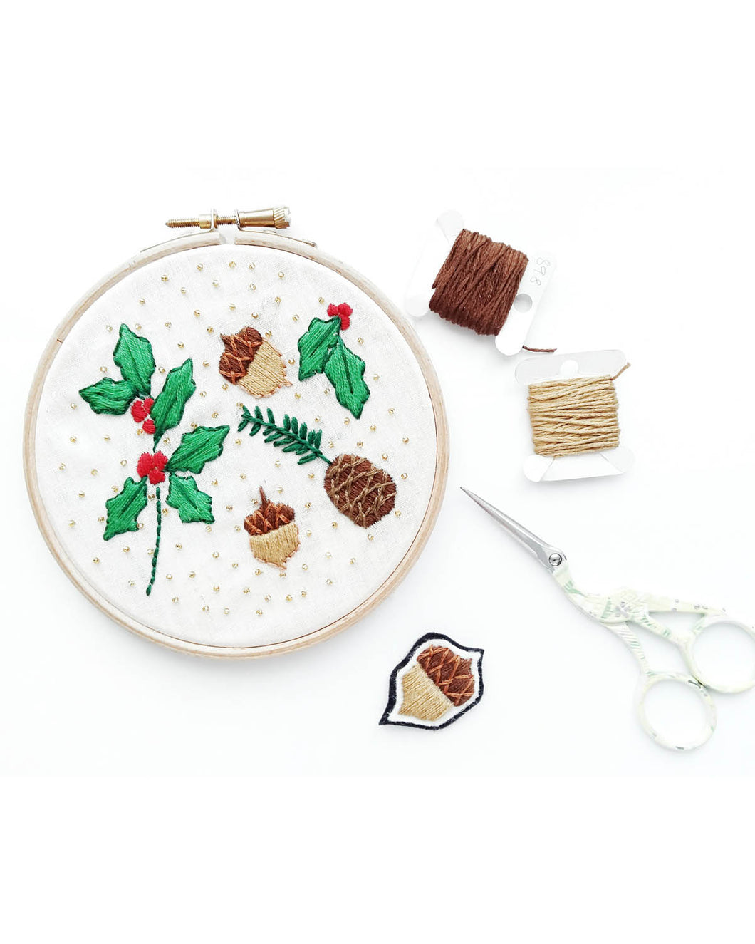 Christmas Embroidery Pattern PDF