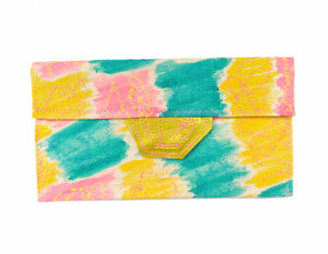 Happy Summer - Seaside Envelope Clutch