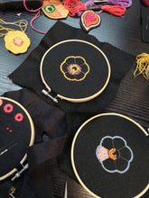 Hand embroidered patch workshop berlin