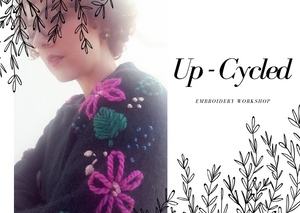 up-cycled fashion clothing embroidery workshop berlin