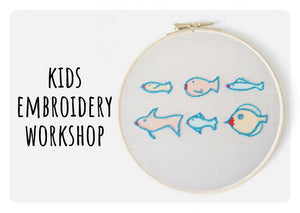Embroidery Workshop for Children