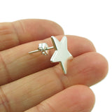 Celestial Star 925 Sterling Silver Earrings Gift Boxed