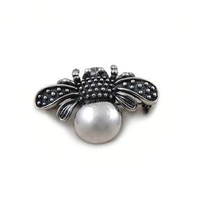 Bumblebee 925 Sterling Taxco Silver Brooch