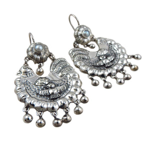 Designer Big Fat Hen 925 Sterling Silver Earrings Gift Boxed