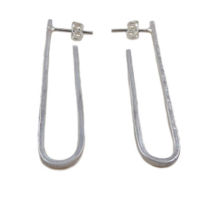 Long Drop 925 Sterling Silver Earrings Gift Boxed