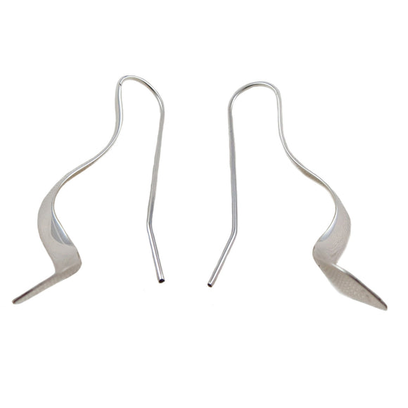 Long Threader 925 Sterling Silver Stick Earrings
