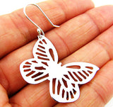 925 Sterling Silver Butterlfy Design Earrings