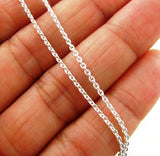 925 Sterling Silver Charms Chain Necklace
