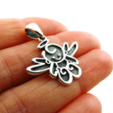Angel Cupid 925 Sterling Silver Cherub Pendant