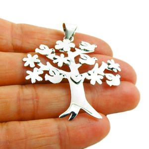 Tree of Life 925 Sterrling Silver Pendant