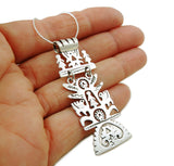 Tree of Life 925 Sterling Silver Drop Pendant