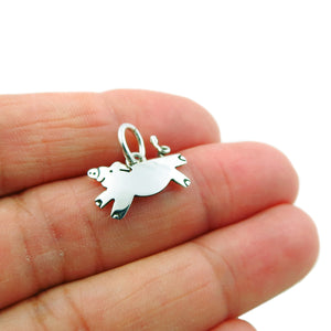 Pigs Can Fly 925 Sterling Silver Pendant