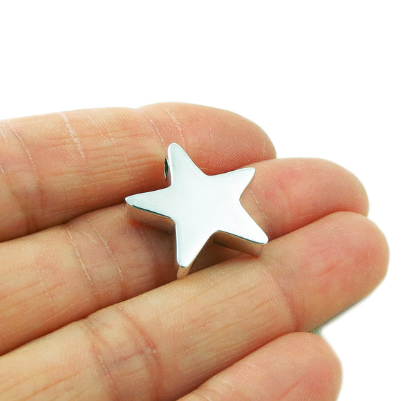 Star 925 Silver Three Dimensional Celestial Pendant