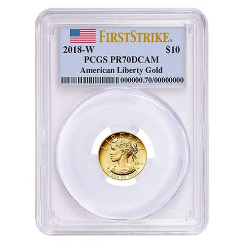 2018-W 1/10 oz  PROOF AMERICAN GOLD LIBERTY COIN, NEWEST RARE COIN RELEASE!