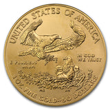 1 oz Gold American Eagle, Best Collector's Gold Buy! (Random Year)