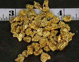 ALASKAN YUKON BC GOLD NUGGETS, MEDIUM-LARGE MESH, SOLD BY THE GRAM