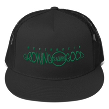 Growing Is Always Good Trucker (green font)