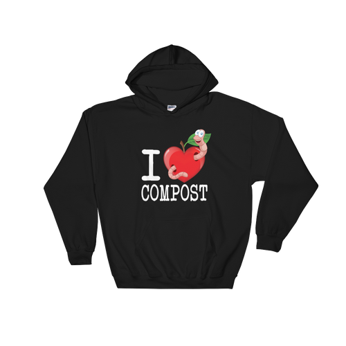 I Love Compost Hoodie