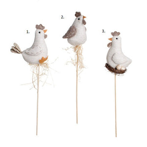 ~ *  Chickens on a Stick