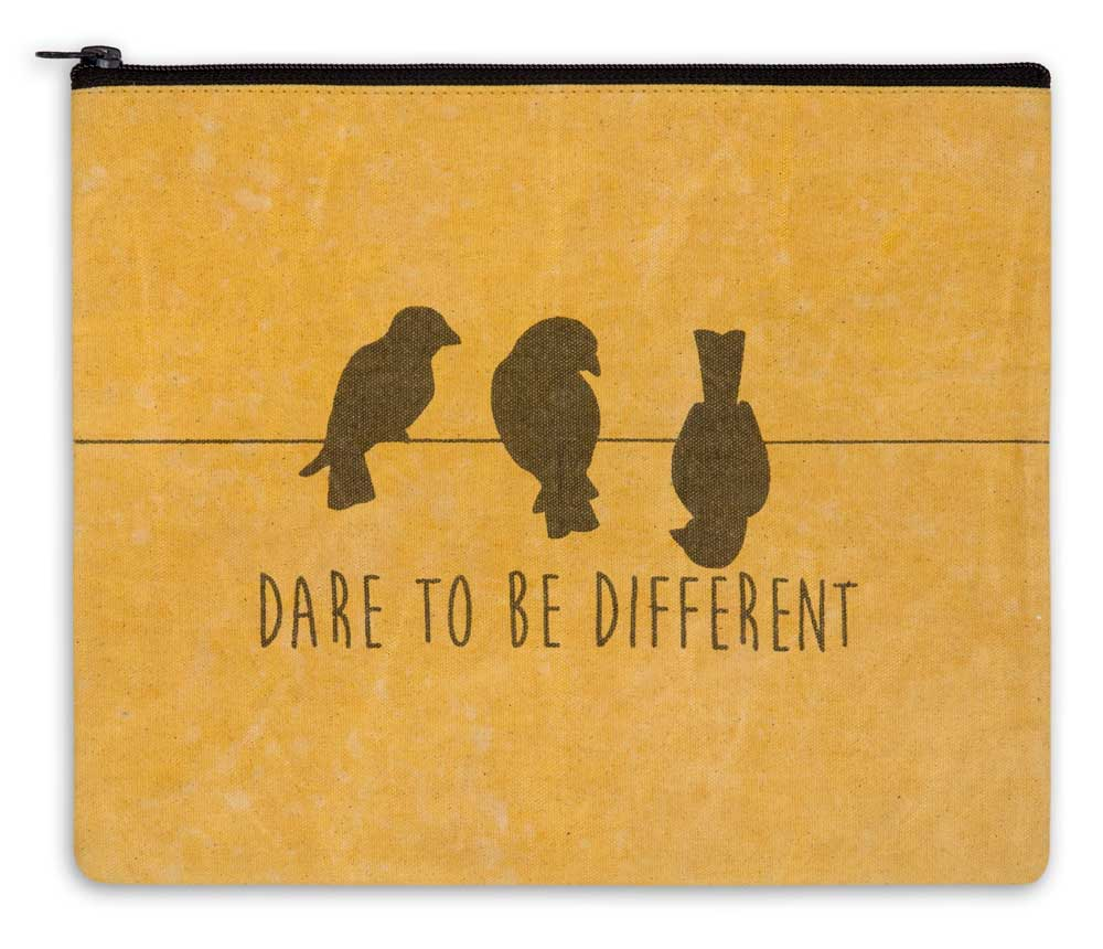 Dare to be Different Travel Bag - The Weathered Loft LLC