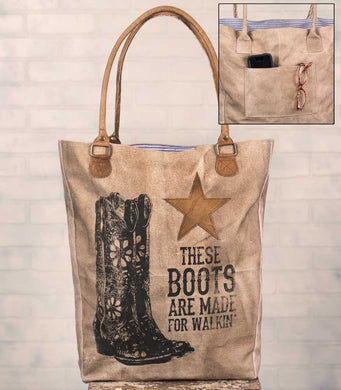~ * These Boots Market Bag