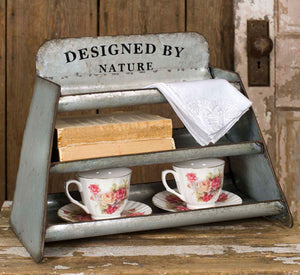 "-$$ Designed by Nature"" Display - The Weathered Loft LLC"