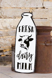 Sign - Fresh Dairy Milk