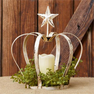 ~ * Crown Candle Holder