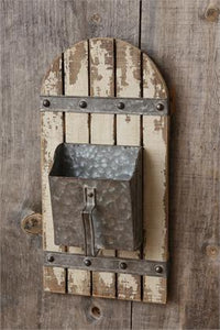 Rustic Hanging Scoop