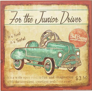 ~ * For The Junior Driver