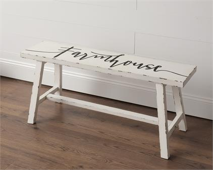 Preorder - Farmhouse Bench